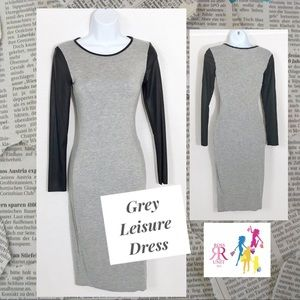 Dresses & Skirts - Grey Leisure Dress